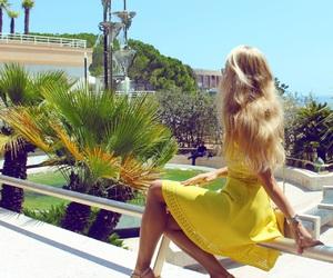 summer, blond hair, and blondie image