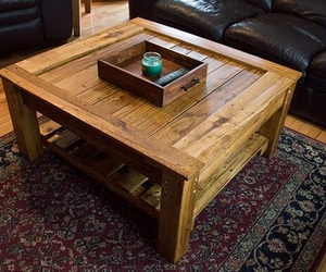 coffee tables, pallet coffee table, and diy coffee table image