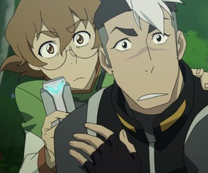 katie, shiro, and Voltron image