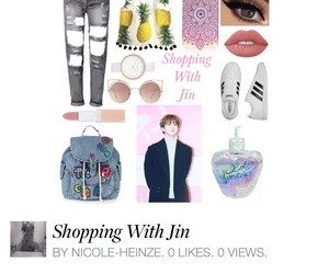jin, outfit, and Polyvore image