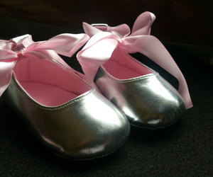 etsy, baby ballerina shoes, and baby wedding shoes image