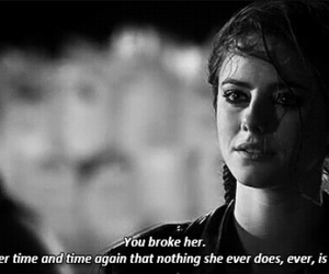 sad, Effy, and skins image