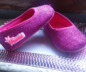etsy, baby ballerina shoes, and girls image