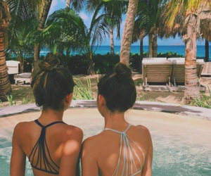 summer, beach, and friendship image