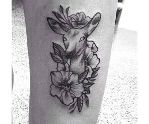 always, doe, and flowers image