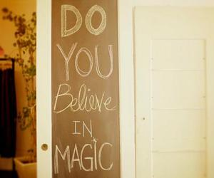magic, believe, and text image