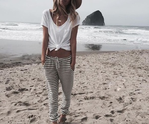 beach, hipster, and fashion image