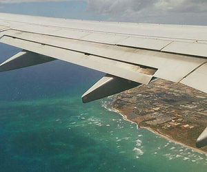 airplane, hawaii, and paradise image