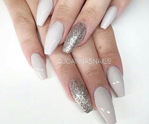 fashion, glitter, and grey image