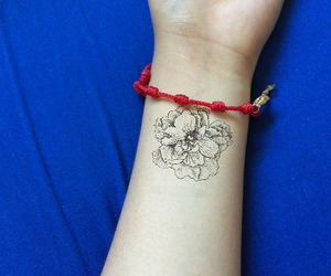 flower and tatto image