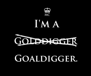 Logo, i'm, and goaldigger image