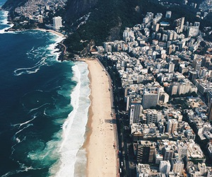 beach, travel, and city image