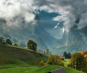 cloud, mountain, and paysage image