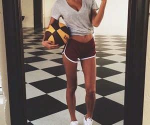 abs, girl, and legs image