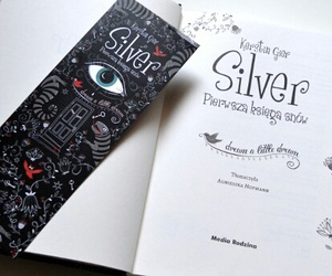 book, silver, and kerstin gier image