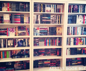 book, books, and colorful image