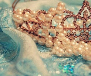 pearls, tiara, and crown image