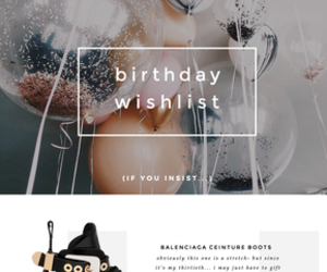 birthday, gift guide, and ceinture image