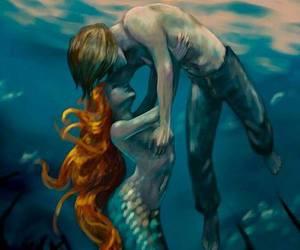 mermaid, ariel, and disney image