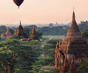 travel, nature, and myanmar image