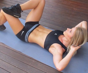 good looking abs image