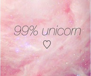 all, pink, and unicorn image