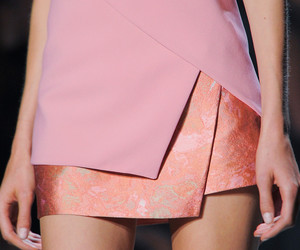 detail, dress, and pink image