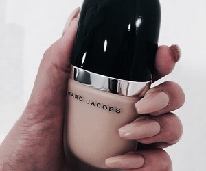 makeup, cosmetics, and marc jacobs image
