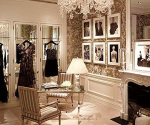 luxury, closet, and room image
