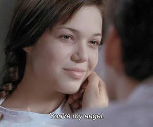 angel, A Walk to Remember, and quote image