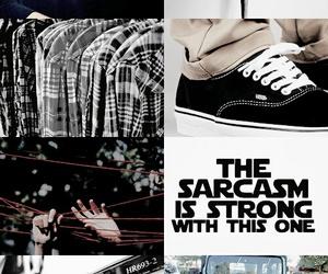 stiles stilinski, jeep, and sarcasm image