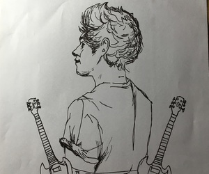 drawind, drawing, and niall horan image