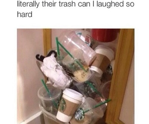 forever 21, funny, and starbucks image