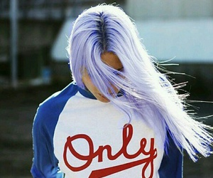 girl, hair, and only image