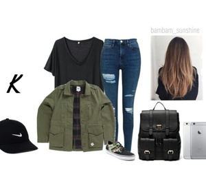 outfit, Polyvore, and friends image