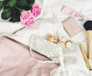 girls, make up, and perfume image