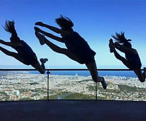 Barcelona, besties, and black image