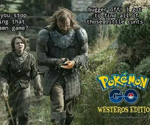game of thrones and pokemon go image