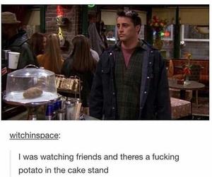 funny, Joey, and potato image