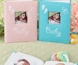 its a girl, party favors, and baby shower image