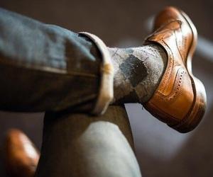 shoes, socks, and vintage image