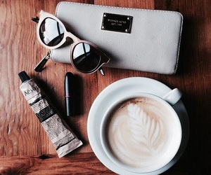 beauty, coffee, and style image