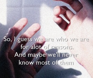 quotes and the perks of being a wallflower image