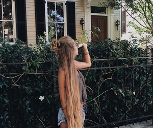 cool, hair, and wild image