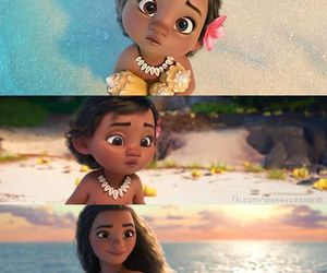 disney, moana, and princess image