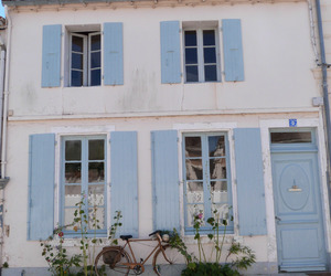 blue, house, and pastel image