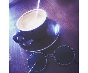 cafe, coffee, and lentes image