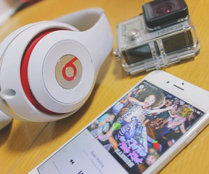 beats, fashion, and girl image