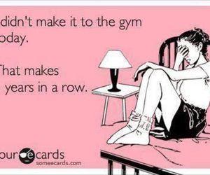 funny, gym, and lol image