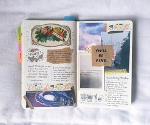 journal, art, and tumblr image